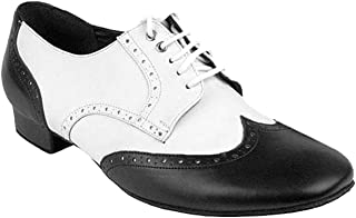 "Mens Ballroom Dance Shoes Standard & Smooth Tango Wedding Salsa Shoes PP301EB -Very Fine 1"" [Bundle of 5]"