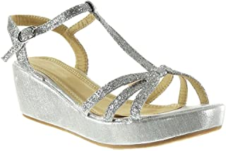 Color 36 Para Zapatos Amazon esSandalias Mujer Plata lTcK13FJ