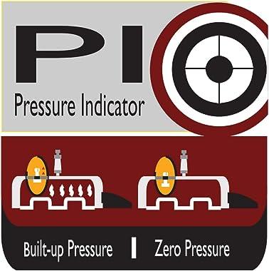 Prestige 3L Alpha Deluxe Induction Base Stainless Steel Pressure Cooker, 3.0-Liter