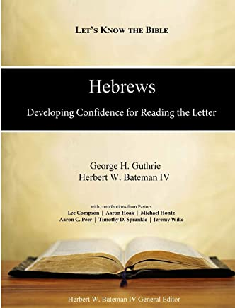 Hebrews: Developing Confidence for Reading the Letter: Volume 2