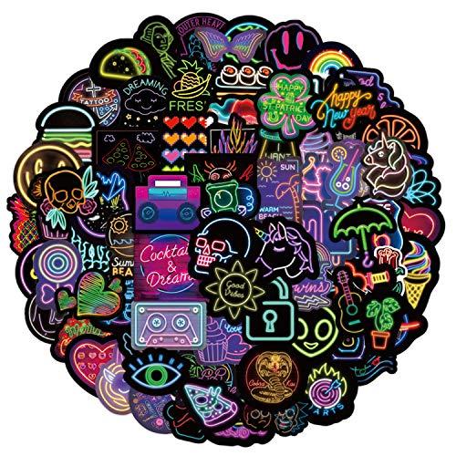 Xnuoyo Aufkleber 100 Kofferaufkleber, Laptopaufkleber, Personalisierte Coole Graffiti-Vinylaufkleber für Skateboards, Motorräder, Koffer, Wasserbecher, Gitarren, Laptops