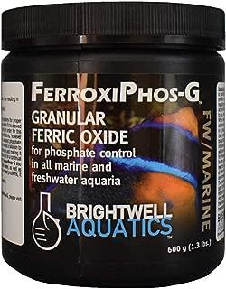 Brightwell Aquatics 162036 16 oz Ferroxiphos-G Granular Ferric Oxide for Phosphate Control