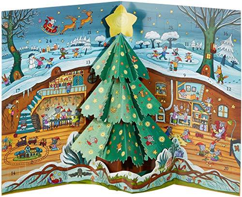 Weihnachten bei Familie Maus Pop-up-Adventskalender: mit Pop-up-Element und 24 Klapptürchen