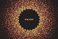 MARYSHARONゴージャスな金色の粒子背景布パーティーお祝い写真背景布装飾小道具高精細印刷写真布CF127150x210cm
