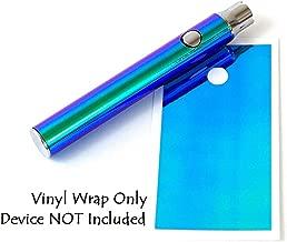 510 Threaded Battery Pen Vape Skin Wrap Decal Vinyl Sticker Iridescent Mermaid