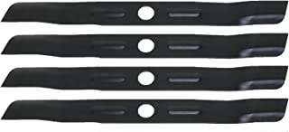 USA Mower Blades (4 BD19BP Low Lift Mulching Blade Replaces Black and Decker 905541433 Length 18 1/2in. Width 1 3/4in. Thickness .150in. Center Hole 1in.