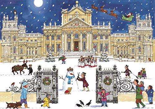 Alison Gardiner: Adventskalender Nostalgisch Wandkalender: Weihnachten im Palace