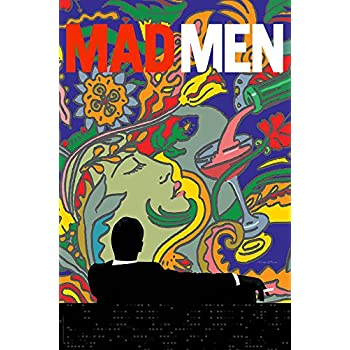 "PosterOffice Mad Men Promo Poster - Size 24"" X 36"" - This is a Certified Print with Holographic Sequential Numbering for Authenticity."