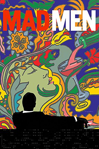 """Mad Men Promo Poster - Size 24"""" X 36"""" - This is a Certified PosterOffice Print with Holographic Sequential Numbering for Authenticity."""
