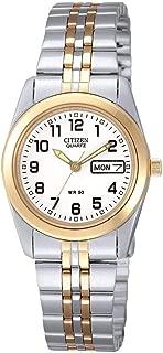 Citizen Ladies Quartz Two Tone Stainless Steel Watch EQ0514-57A