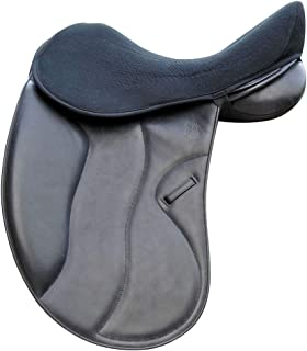 Acavallo Ortho Coccyx Gel in Dri-Lex Seat Saver - Dressage, Large, Black