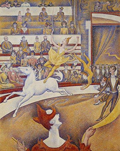 Kunst für Alle Impresión artística/Póster: Georges Pierre Seurat Le Cirque - Impresión, Foto, póster artístico, 80x100 cm