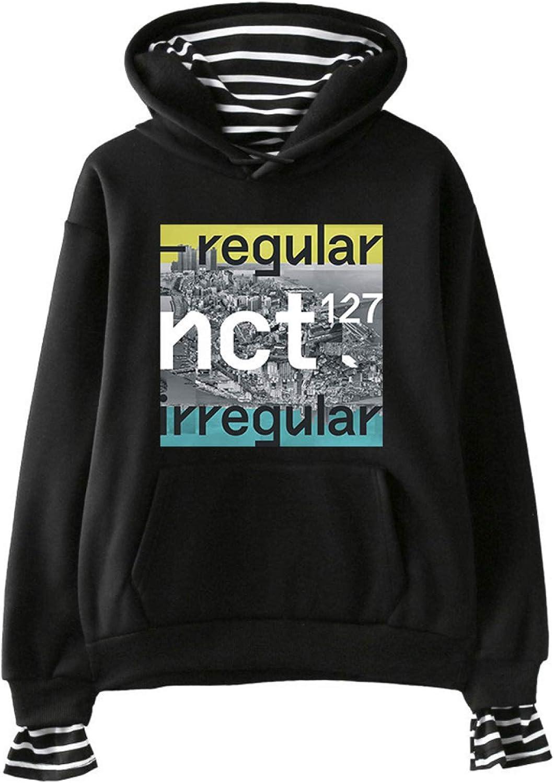 NCT Dallas Mall Topics on TV 127 Merchandise Hoodie Pullover Sweatshirt KPOP Col Multiple