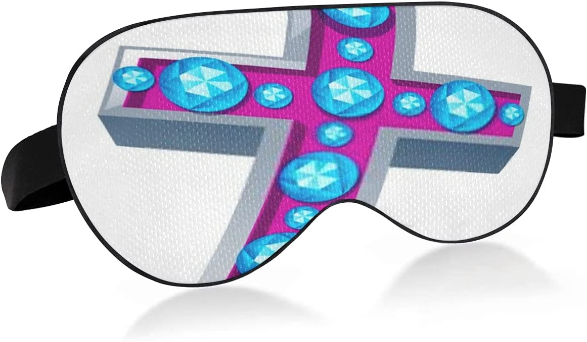 Sleep Cheap mail order shopping Mask with Sale Eyes That Block and Relieve Light Dry Vecto
