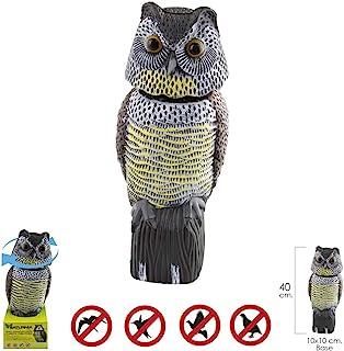 comprar comparacion Buho Ahuyentador de Pajaros / Aves Con Cabeza Giratoria 40 cm.