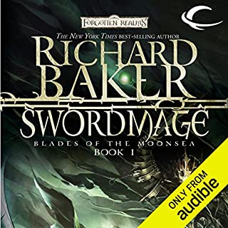 Swordmage audiobook cover art