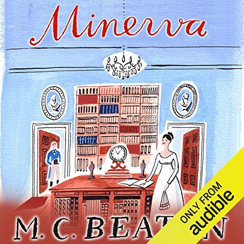 Minerva audiobook cover art