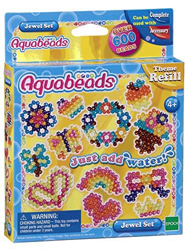 Aquabeads 79158 Glitzer Set - Bastelset Themen Nachfüllset