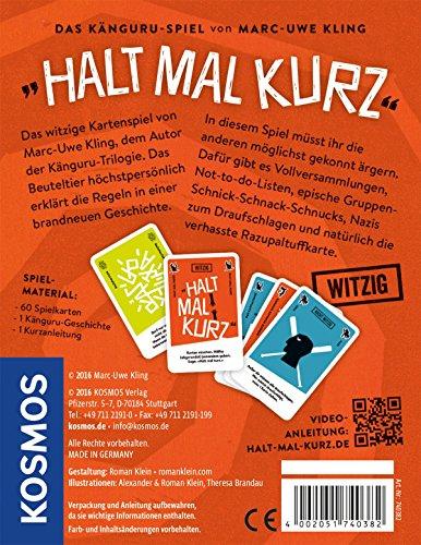 KOSMOS Spiele 740382 – Kartenspiel Halt mal kurz - 4
