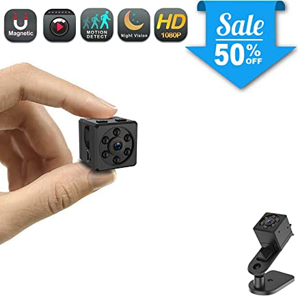 Mini Spy Camera, CHUHE 1080P Portable HD Covert Body Camera with Night Vision and Motion