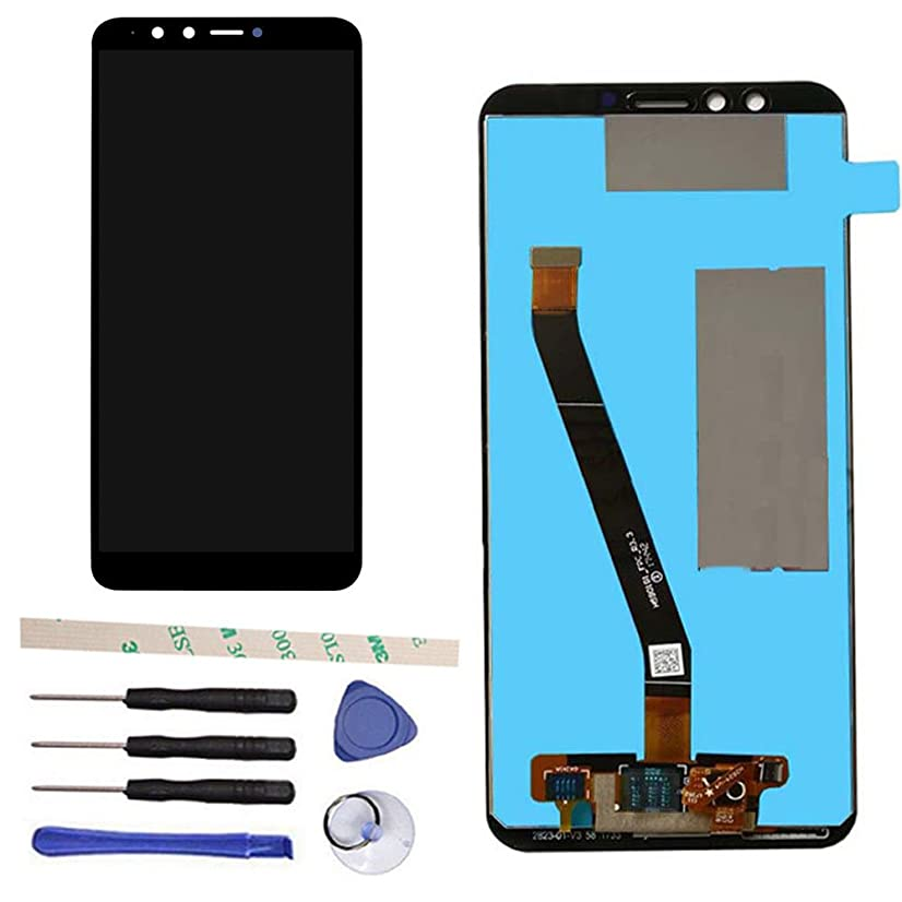 Draxlgon LCD Display Touch Screen Digitizer Assembly Replacement for Huawei Y9 2018 FLA-L22 FLA-LX2 FLA-AL00 FLA-LA10/Enjoy 8 Plus FLA-AL20 5.93'' (Black)
