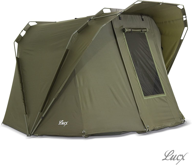 Lucx Bivvy 'Coon' Angelzelt 1-2 Mann, Karpfenzelt, Zelt, Carp Fishing Tent, Campingzelt