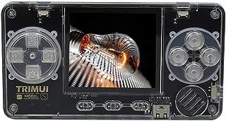 Powkiddy TRIMUI ミニゲーム機 カードゲーム機 超軽量 レトロゲーム機 TF拡張可 軽量80g 銀色