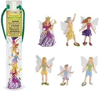 Safari Ltd Fairy Fantasies Toy Figurine TOOB, Including 6 Winged Fairies