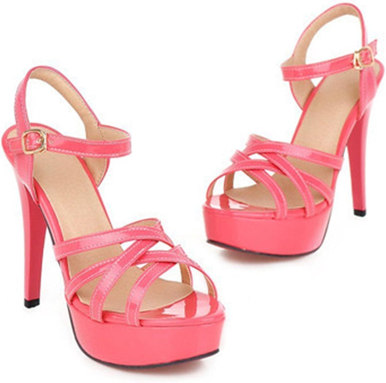 Ladiamonddiva Sandals Fashion Summer Women Sandals Summer Heels Gladiator Party Platform Thin High Heels Female Cutout Yellow shoes