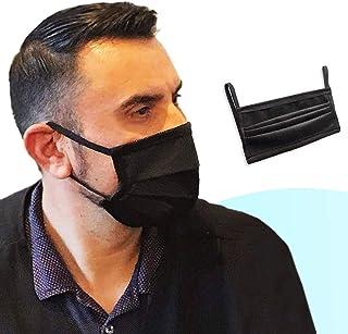 LUTEMA Cubreboca Protectora para Boca y Nariz Multi Capa Tela Transpirable y Reutilizable Lavable para Viajes de Oficina e...