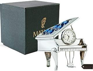 Best miniature piano clock Reviews