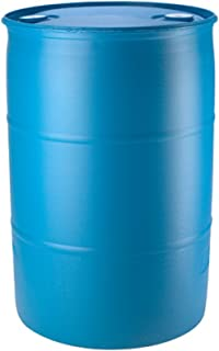55 Gallon Water Barrel Drum for Fresh Water Storage and Rain Water, Good for Long Term Use.