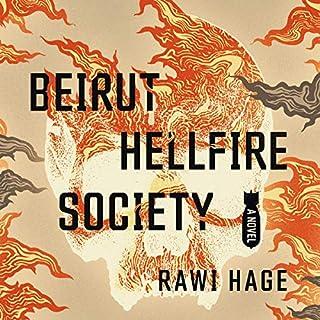 Beirut Hellfire Society audiobook cover art