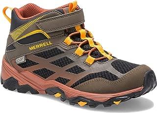 Merrell Kids' Moab FST Mid a/C WTRPF Hiking Boot