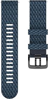 Polar Uniseks polsband voor volwassenen, 22 mm, blauw, M/L