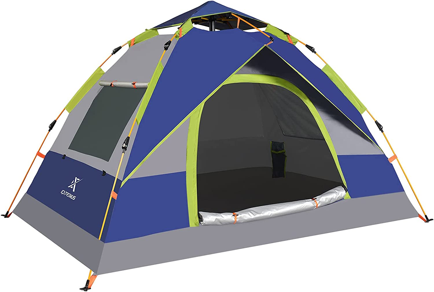 Extremus Mission Mountain Instant Pop-Up Camping Tent 6 NEW before Award-winning store selling ☆ 2 4 Per