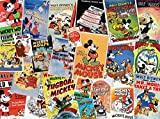 Ceaco Disney Mickey Mouse Vintage Collage Jigsaw Puzzle, 1500 Pieces