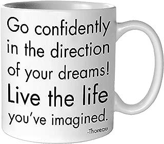 Quotable Go Confidently Mug