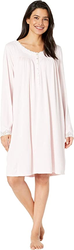 Sweater Knit Short Nightgown