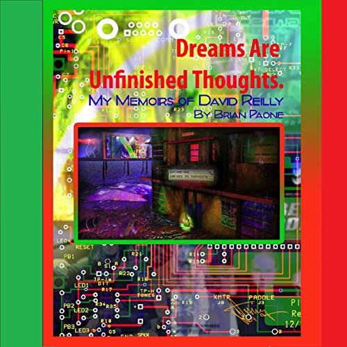 Dreams Are Unfinished Thoughts audiobook cover art