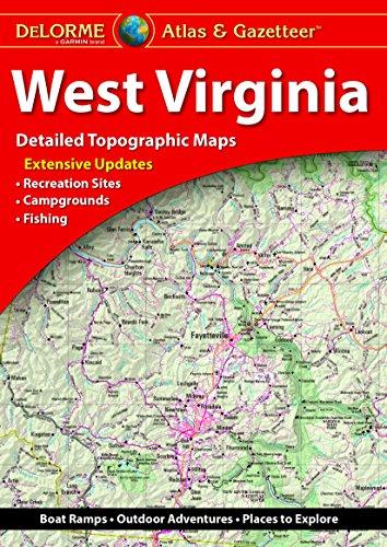 DeLorme Atlas & Gazetteer: West Virginia