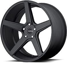 One KMC Satin Black KM685 District Wheel/Rim - 19x8.5 - 5x114.3 - +42mm