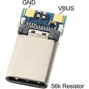 CY DIY 24ピンUSB 3.1タイプC USB - PCボードとCオス プラグコネクタSMTタイプ
