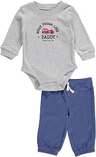 Baby Boys 2-Piece L/S Bodysuit & Pant Set