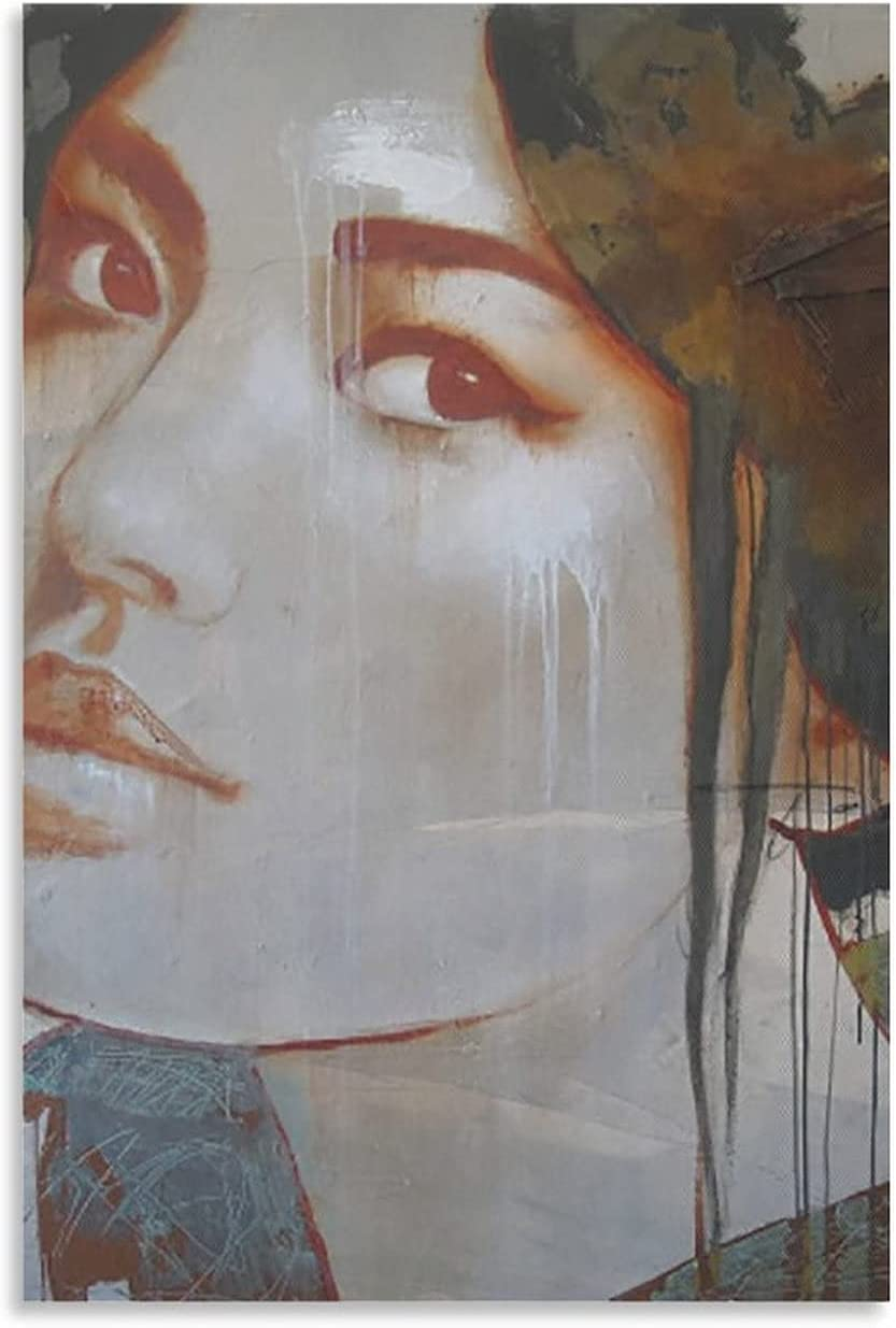 huangwen Nose Cheek Nippon latest regular agency Modern Art Poste Decor Living Paintings Room