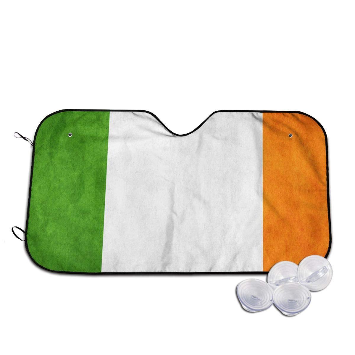 Ireland NEW Grunge Flag Windshields Sun Lastin 3D Printed Long Gifts Shade