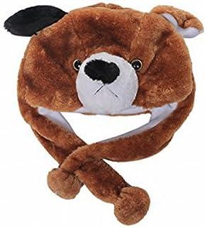 5b0c7d99ed47c Animal Plush Earmuff Winter Warm Fluffy Cap 3