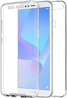 e53b8d431c5 TBOC Funda para Huawei Honor 7A [5.7 Pulgadas] - Carcasa [Transparente]  Completa