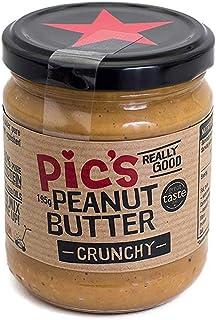 Pic's Peanut Butter ピックスピーナッツバター あらびきクランチ 195g