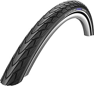 SCHWALBE Marathon Racer HS 366 Road Bike Tire (700x35, SpeedGrip Wire Beaded, Black)